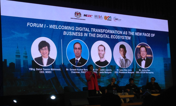 LAYSIA DIGITAL ECONOMY FORUM Opening Session